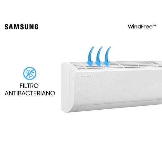 Ar Condicionado Split Hi-Wall Samsung Wind Free New Inverter 9.000 BTU/h Quente/Frio 220v | AR09TSHCBWKNAZ | STR AR