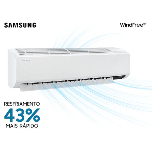 Ar Condicionado Split Hi-Wall Samsung Wind Free New Inverter 22.000 BTU/h Quente/Frio 220v | AR24TSHCBWKNAZ | STR AR