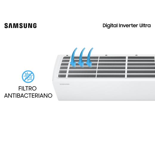 Ar Condicionado Split Hi-Wall Samsung Digital Inverter Ultra 9.000 BTU/h Quente/Frio 220v   AR09TSHZDWKNAZ    STR AR