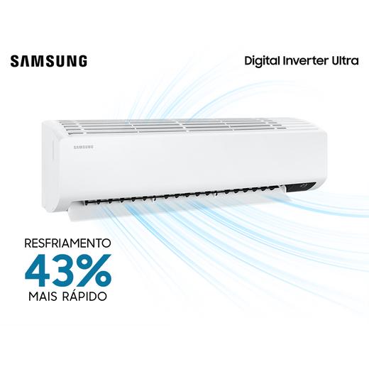 Ar Condicionado Split Hi-Wall Samsung Digital Inverter Ultra 22.000 BTU/h Quente/Frio 220v | AR24TSHZDWKNAZ | STRA AR