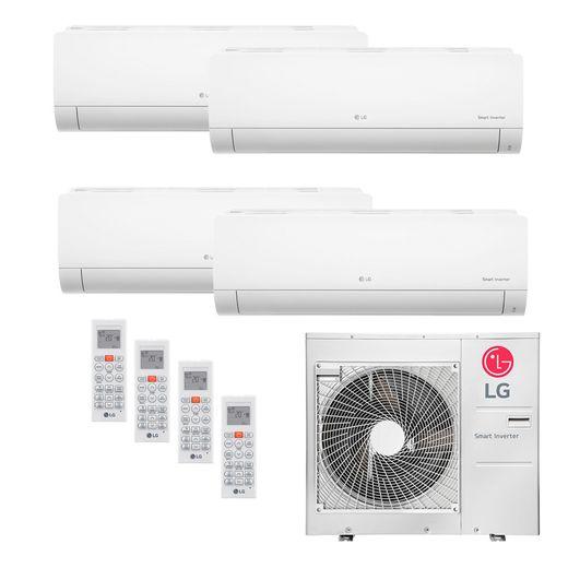 Ar Condicionado Multi-Split LG 48.000 BTU/h (1x 11.900 BTU/h 2x 17.100 BTU/h e 1x 22.500 BTU/h) Quente/Frio 220V | STR AR