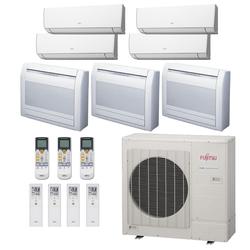 Ar Condicionado Multi-Split Fujitsu 48.000 BTU/h (4x 7.000 + 2x Piso Teto 9.000 e 1x Piso Teto 12.000) Quente/Frio 220V   STR